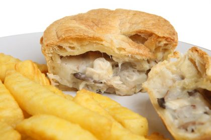 McKees Takeaway Chicken Mushroom Pie