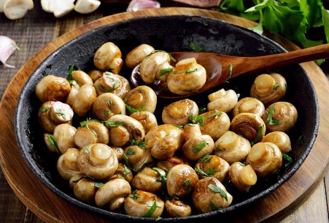 McKees Takeaway Pan-Fried Mushrooms